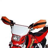 JFG RACING Orange Motorrad 7/8 Zoll 1 1/8 Zoll Handschützer Handschützer für EXC EXCF SX SXF SXS...