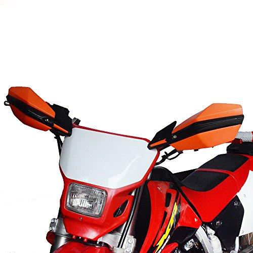 Protectores de Manillar de Aluminio JFGRACING de 22 y 28 mm para Motocicletas, Motocross, Pit Bikes, Motos de Trial y quads de Honda, Yamaha, Kawasaki Suzuki y K.T.M
