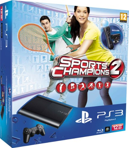 SONY CONSOLECONSOLE PS3 12GB+MOVE STARTER+SPORTS CHAMPI