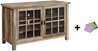 Better Homes and Gardens Oxford Square TV Stand and Console is Designed to Accommodate Flat Panels TVs up to 55