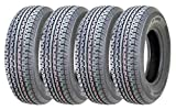 4 New Premium Freedom Hauler Trailer Tires ST175/80R13 Radial Steel Belted