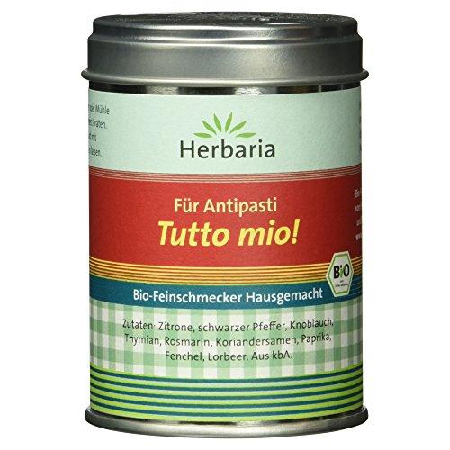 Herbaria Tutto mio! - Hausgemachtes für Antipasti 65g, 1er Pack (1 x 65 g) - Bio