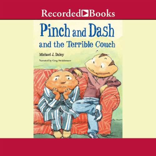 Pinch and Dash and the Terrible Couch audiobook cover art