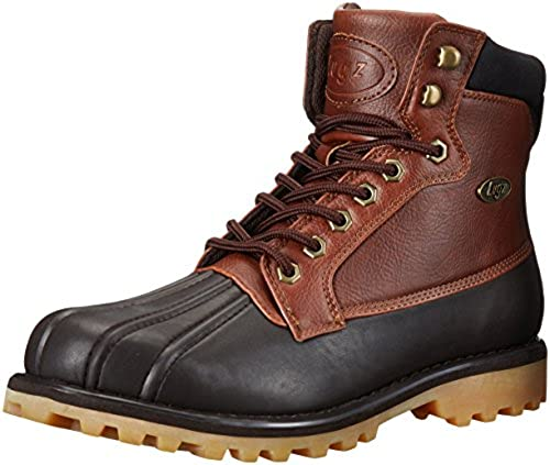 Lugz Men& 039;s Mallard Winter Stiefel, Dark braun Cabin Gum, 11.5 D US