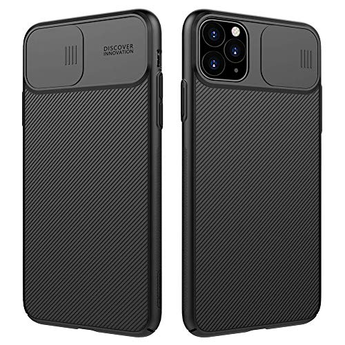 Nillkin iPhone 11 Pro Max Case, Slim Full Body Stylish iPhone 11 Pro Max Protective Case Cover [Creative Slide Lens Protector] Hard PC Ultra Thin Phone Case for Apple iPhone 11 Pro Max 6.5