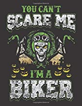 2020 Motorcycle Calendar and Planner For Bikers: Halloween Skull Motorcycle Biker Scare Ghost | December 2019 - December 2020 | 8.5 X 11