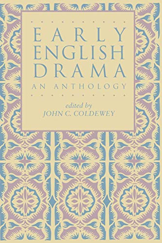 Early English Drama: An Anthology (Garland Reference Library of the Humanities)