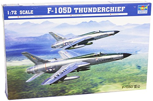 Trumpeter-Modellino Republic F-105D Thunderchief Scala 1:72 (Tru01617)