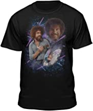 Bob Ross 80s Photo Official Licensed Graphic T-Shirt