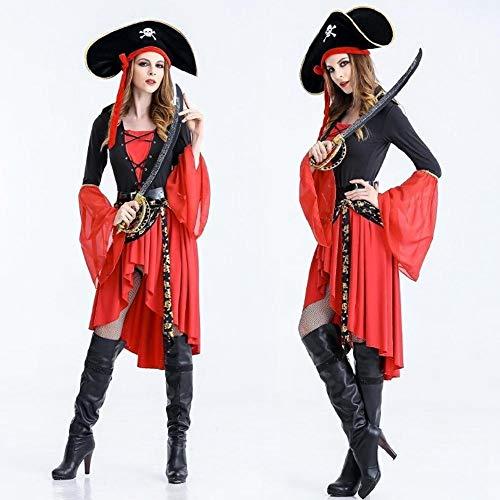 Yunfeng Halloween Bruja Disfraz para Mujer Halloween Bruja Disfraz ...