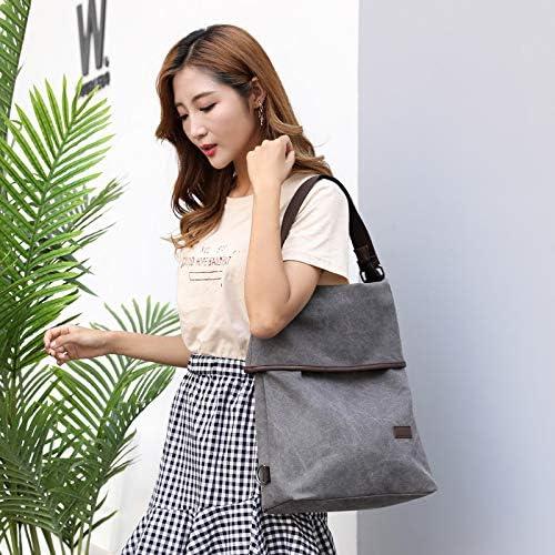 XLJJB Sac À Dos Sac À Dos New Trend Messenger Bag Sac À Dos Simple Wild Leisure Travel Lady Bag gray