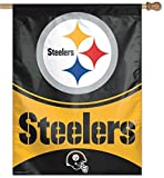 Pittsburgh Steelers Authentic 28'x40' Polyester Indoor/Outdoor Banner Flag Wincraft