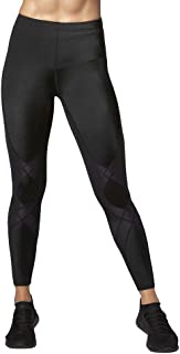 CW-X Women's Mid Rise Full Length Stabilyx Compression Legging Tights