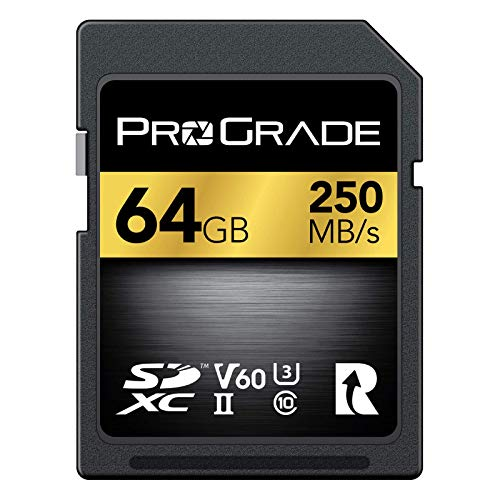 SD UHS-II 64GB Card V60