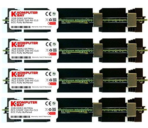 Komputerbay - Módulos de memoria FB-DIMM (240 PIN) para Apple Mac Pro...