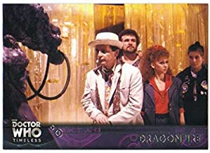 2016 Topps Doctor Who Timeless Trading Card #33 Dragonfire