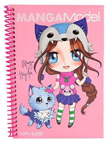 Depesche TOPModel Mangamodel Pocket libro da colorare