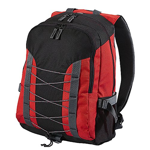 Shugon - sac à dos sport étudiants MIAMI 7690 backpack 26L - rouge