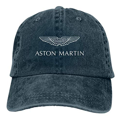 Custom Aston Martin Vehicle Logo Fashion Baseball Caps for Mens Black Sombreros y Gorras