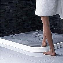 Badkamer waterbarrière siliconen strips douchewand afdichting, flexibele siliconen douchecabines afdichtingen, badkamer wa...