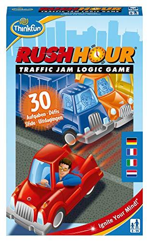 Think Fun Rush Hour Juego de acción y reflejos con coches