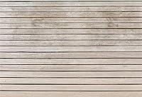Amxxy 写真撮影のための10x8ftの木製の背景赤ちゃんの子供の写真の背景白い木の床の壁のシーンの背景写真スタジオの小道具