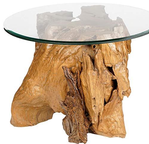 G2 Tables gigognes en MDF 50/x 55/x 32/cm Noyer