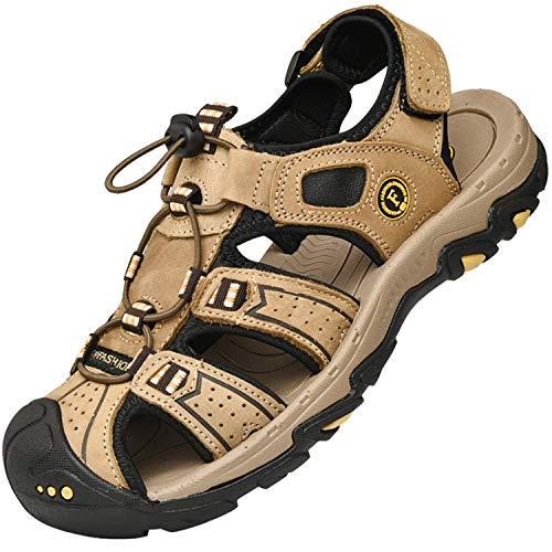 Lvptsh Sandali Sportivi Uomo Sandali de Passeggio Estivi All'aperto Escursionismo Trekking Sandals...