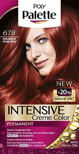 Poly Palette Haarverf 678 Robijn rood - 1set