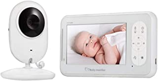 Baby Monitor Camera 4.3 Inch HD LCD Screen 2 Audio Technology Powerful Night Vision Function 200 Meters Transmission Dista...