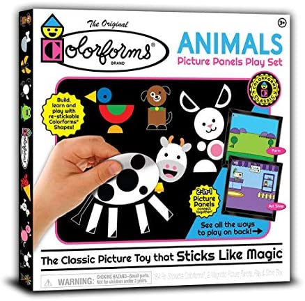 Colorforms Picture Panels Play Set Animals product image