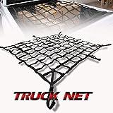 """LT Sport 86"""" Heavy-Duty Cargo Net Trunk Tralier Carrier Roof Top Mesh Pickup Truck Cover"""