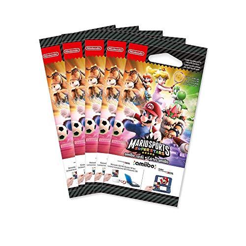 5x Amiibo Karten Mario Sports Superstars 5 Stück
