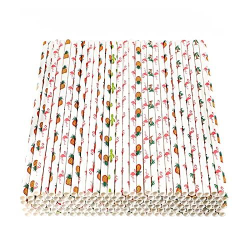 Cannucce di Carta,200 Pezzi Cannucce da Cocktail Colori Cannucce di Carta per Feste Succhi di Frutta Decorazione Cocktail