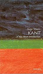 Kant: A Very Short Introduction by Roger Scruton Book Cover