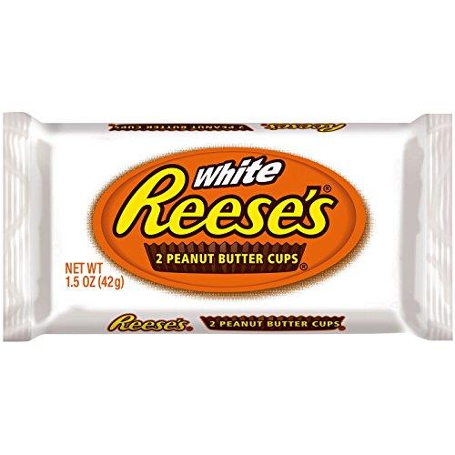 Reese's white 2 peanut butter cups burro di arachidi