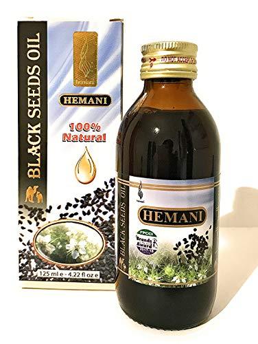 Zwarte Zaad Olie (Zwartzaad) Kruiden 125ml Hemani 100% Pure Natuurlijke Extract Medische