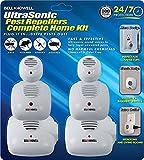 Bell + Howell Ultrasonic Pest Repeller Home Kit...