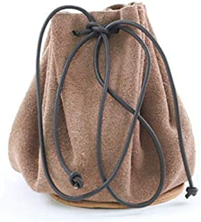 Suede Drawstring Leather Pouch Bag Christmas Gift Storage Bag Pouch for Wedding Party Favors
