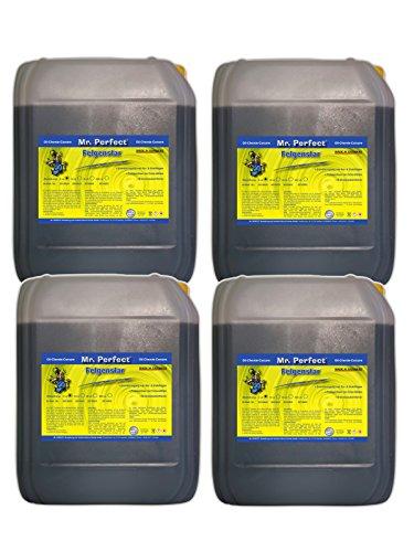 Mr. Perfect® Felgenstar, Felgenreiniger Konzentrat für Alu & Stahlfelgen, Säurehaltige Felgenpflege - 4 x 5 Liter