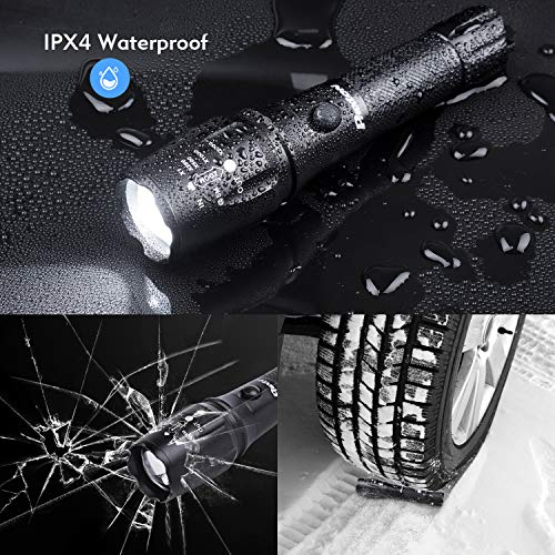 Phixton Rechargeable Tactical Flashlight