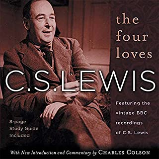 The Four Loves audiobook cover art