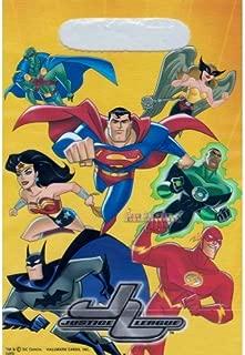 Hallmark Justice League Birthday Treat Loot Bags [8 Count]