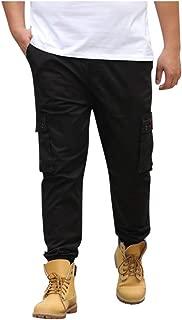 Pants for Men,IHGTZS Men Summer Pants Casual Long Skate Board Stright Fashion Pocket Plus Size S-7XL
