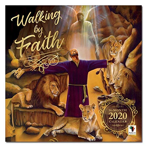 African American Expressions 2020 Wall Calendars - 2020-2021 Monthly Calendars Celebrating Black Culture & History - 12x12 Hanging Calendar - 16 Months - Walking By Faith