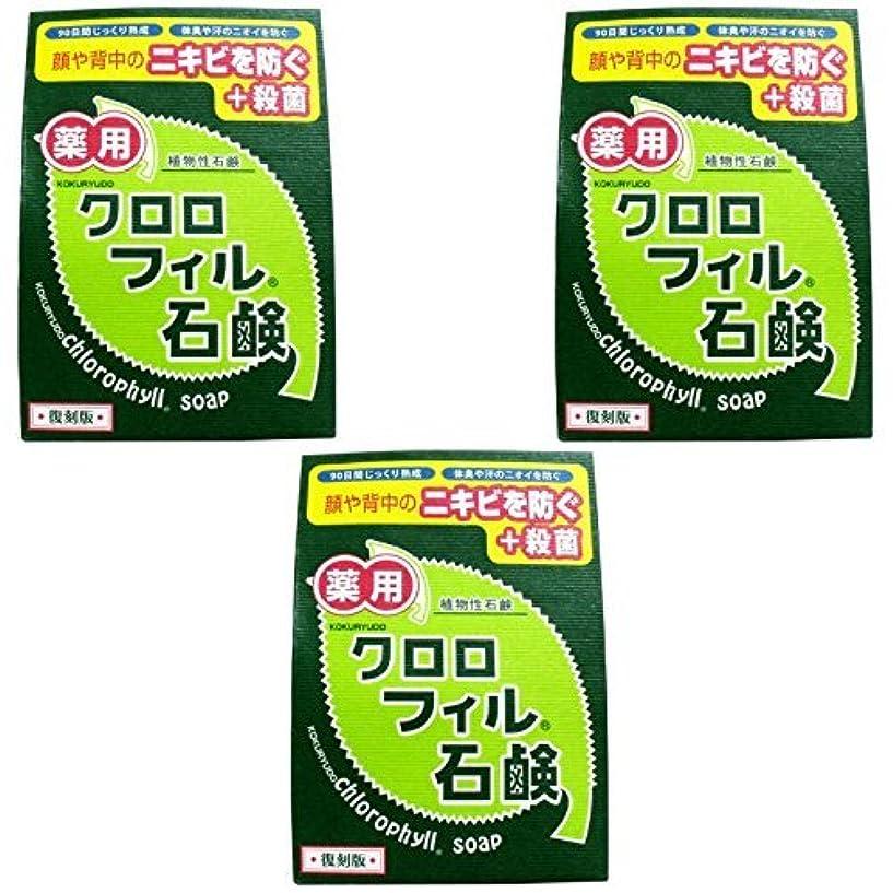 ビルダー塩ミル【まとめ買い】クロロフィル石鹸 復刻版 85g (医薬部外品)【×3個】