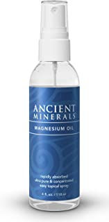 Sponsored Ad - Ancient Minerals Magnesium Oil Spray Bottle of Pure Genuine Zechstein Magnesium Chloride - Topical Magnesiu...