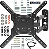 """Everstone TV Wall Mount Full Motion Bracket for 23-55""""TVs up to 66 lbs"""