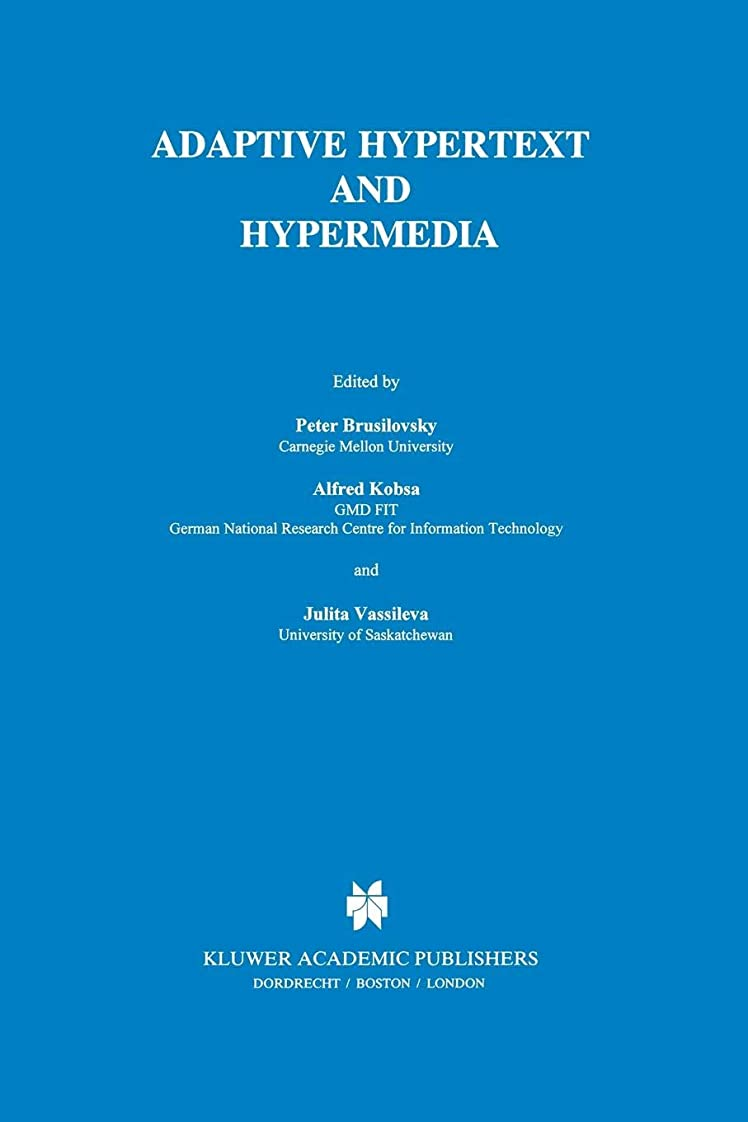 区ハッチ周波数Adaptive Hypertext and Hypermedia