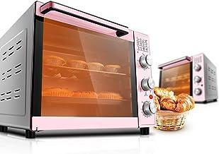 L.TSA Cocina Horno eléctrico de Gran Capacidad para Hornear en el hogar Multifuncional automático 33L Horno rotativo a la Parrilla